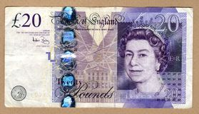 Zwanzig Pfund Stockfotos