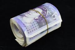 Zwanzig Pfund-Anmerkungen Lizenzfreie Stockbilder