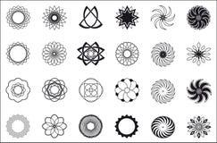 Zwanzig vier Muster Stockbilder