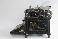 zwanziger Jahre Weinlese-Schreibmaschine stockfoto
