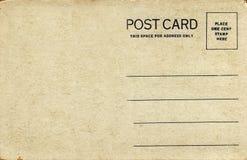 Zwanzigerjahre Postkarte, natürlicher Ton Lizenzfreie Stockfotografie