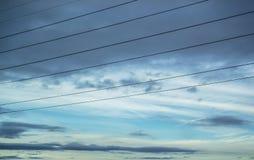 Zware Donkere Wolken Stock Fotografie