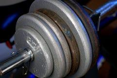 Zware Gewichten Royalty-vrije Stock Foto