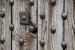 Zware houten deur Royalty-vrije Stock Foto