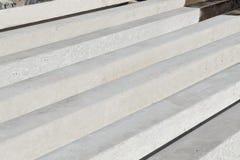 Zware industrie concrete delen stock foto's