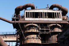 Zware industrie en mijnbouwmuseum in ostrevavitkovice in Tsjechische republiek royalty-vrije stock foto