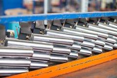 Zware metallugriya Gemakkelijke metallurgie Het werk met metaal productie stock foto