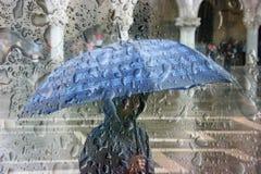 Zware Regen Royalty-vrije Stock Fotografie