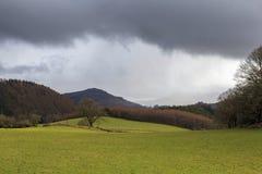 Zware regenwolken Royalty-vrije Stock Afbeelding