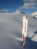 Zware sneeuwval Royalty-vrije Stock Afbeelding