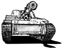 Zware tank Stock Foto
