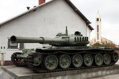 Zware tank t-80 Stock Fotografie