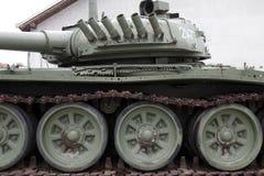 Zware tank t-80 Royalty-vrije Stock Foto