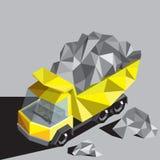 Zware vrachtwagen Stock Afbeeldingen