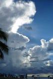 Zware wolken Royalty-vrije Stock Fotografie