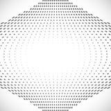 Zwart Abstract Halftone Ontwerpelement, vector Stock Afbeeldingen
