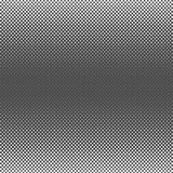 Zwart Abstract Halftone Vierkant Dot Background, vectorillustratie Stock Foto's