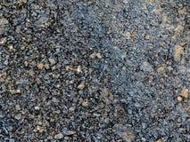 Zwart Asphalt Tar Texture, Achtergrond royalty-vrije stock fotografie