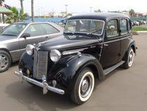 Zwart Austin 12 vier deuren in Lima Royalty-vrije Stock Fotografie