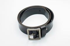 zwart band met witte achtergrond Royalty-vrije Stock Foto's