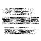 Zwart bandspoor met vectorillustratie als achtergrond vector illustratie