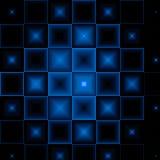 Zwart-blauwe abstracte achtergrond Royalty-vrije Stock Foto