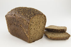 Zwart brood Royalty-vrije Stock Afbeelding