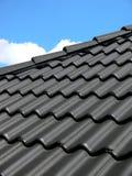 Zwart dak stock afbeeldingen