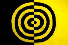 Zwart en geel concept royalty-vrije stock foto's