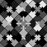 Zwart en grijs patroon Royalty-vrije Stock Fotografie