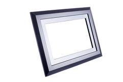 Zwart fotoframe Royalty-vrije Stock Fotografie