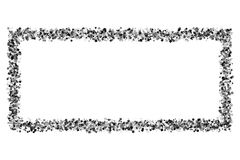 Zwart frame stock illustratie