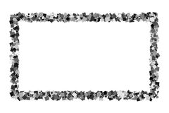 Zwart frame royalty-vrije illustratie