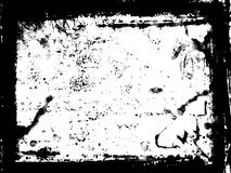 Zwart frame Stock Foto's