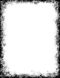 Zwart Frame Grunge Royalty-vrije Stock Fotografie