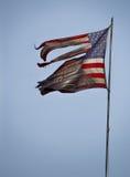 Zwart gemaakte Vlag 3907 stock foto's