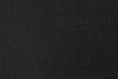 Zwart Geweven Document Royalty-vrije Stock Afbeeldingen