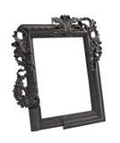 Zwart gotisch uitstekend kader Stock Afbeelding
