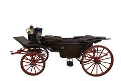 Zwart historisch vervoer stock foto's