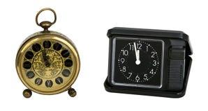 Zwart Horloge royalty-vrije stock foto