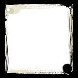 Zwart inktframe Stock Foto's