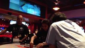 Zwart Jack Casino stock videobeelden