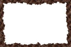 Zwart kaviaar pictire frame Stock Foto's