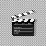 Zwart klap open zwart objecten element voor film vectorillustratie Vlak in stijl Symboolpictogram op films voor uw projecten stock illustratie