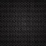 Zwart koolstof naadloos patroon Royalty-vrije Stock Foto's