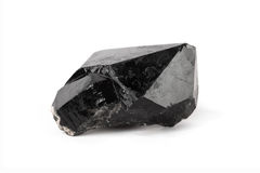Zwart kwartskristal Stock Fotografie