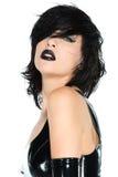 Zwart latex stock foto's
