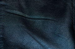 Zwart Leer Royalty-vrije Stock Afbeelding