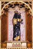 Zwart Madonna-cijfer stock afbeelding