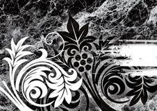 Zwart marmer Vector Illustratie
